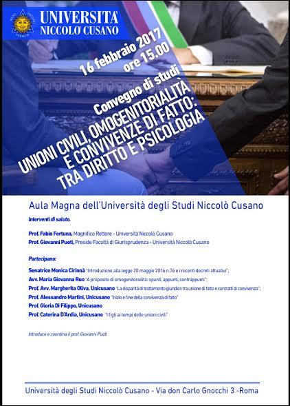 Ecco perché lo strumento didattico dei convegni universitari nella Niccolò Cusano è comune da Roma fino al Learning Center di Firenze.